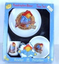 Paddington Bear Reutter Porzellan Porcelain Child Bowl Plate Cup Tea Set German