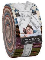 "Moda, Nancy's Needle, Jelly Roll, 2.5"" Fabric Quilting Strips, 31600JR, J02"
