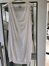 Marlene Birger Dress Or Long Slouchy Top Knit Linen Blend
