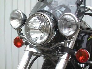 Fehling Lampenhalter Zusatzscheinwerfer Kawasaki VN1500 Classic (VNT50D) 96-02