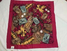 """Vintage I.N.C. International Concepts Multi Color 100%Silk 26""""x26"""" Japan made"""