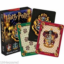 Harry Potter Hogwarts House Crests Playing Cards Poker Card Deck New Sealed Mint