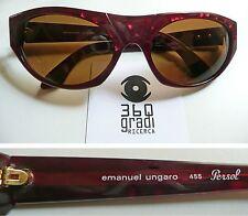 Persol Emanuel Ungaro 455 occhiali da sole vintage lunettes sunglasses anni '80