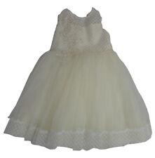 Girls Visara wedding, bridesmaid, christening, special occasion dress in ivory