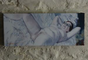 Nude/Figurative/Erotic, Original Contemporary Oil Painting by A.R.Hayfield.