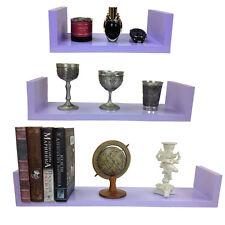 Wandregal 3er Set Design Bücher CD Regal verschiedene Farben NEU in 10 Farben