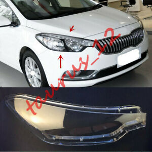 Right Side Headlight Cover Clear PC+ Glue replace For KIA K3 Forte 2015-2016-J