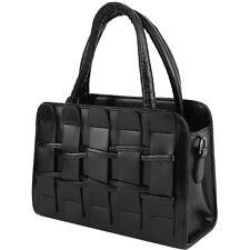 New Womens PU Leather Fashion Messenger Handbag Lady Shoulder Bag Totes Purse