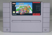 Super Mario Kart - Nintendo SNES Game Authentic