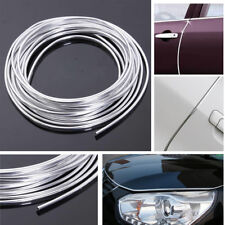15M Chrome Moulding Trim Strip SUV Car Door Edge Scratch Guard Protector Cover