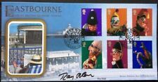 RAY ALAN, TV Ventriloquist, Lord Charles, Titch Signed 4.9.2001 Punch & Judy FDC