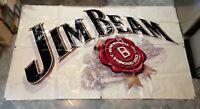 Rare Large Official Jim Beam Bourbon Promotional Banner