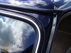Classic Mini Windscreen Windshield Rear Screen Insert Trim In WHITE