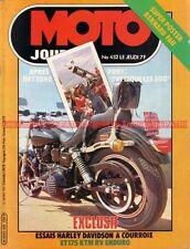 MOTO JOURNAL  452 BMW R65 R 65 KTM RV 125 DAYTONA Harley Davidson 1340 Sturgis
