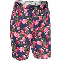 Golf Shorts by Royal and Awesome Bloomers Floral Shorts Roses Size 30 - 44