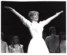 """Debby Boone """"SEVEN BRIDES FOR SEVEN BROTHERS"""" 1982 Broadway Preview Press Photo"""