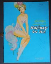 1965 Holiday on Ice Skating Show illustrated program-Lots of Vintage photos too!