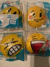 McDonald's Lot Of 4 Emoji Toys