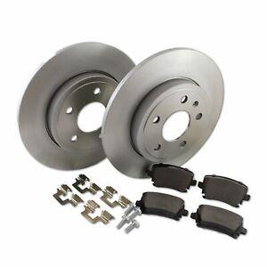 Hella Pagid Rear Brake Kit 288mmDPK073 fits Audi A4 8ED, B7 2.0 TFSI