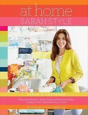 At Home: Sarah Style, Richardson, Sarah, Good Condition, Book