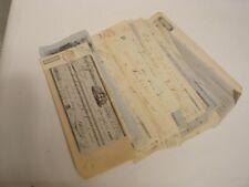 Collection de 55 Titres de paiements de 1840 à 1959 - monnaies billets (18747)