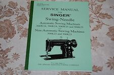 Professional 92-Page Service Manual for Singer 306, 306W, 306K, Sewing Machines.