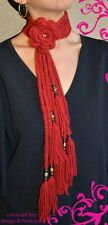 Free Shipping !!! Beautiful  Handmade Scarf by Gloria del Rey