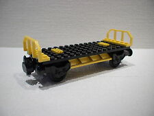 LEGO® Eisenbahn Grundwaggon 2 zum Containertransport für 3677, 7898, 7939-NEU 2