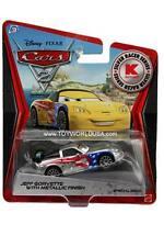 2012 Disney Cars 2 Metallic Finish Silver Racer Series Jeff Gorvette KMART
