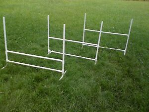 3 Dog Training Jumps Agility Obedience Flyball FUN!!