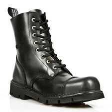 New Rock Boots Style M.NEWMILI083 S1 Black Unisex Steel Toe