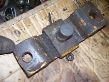Vintage Minneapolis Moline 445 Tractor Drawbar Anchor Assembly 1957
