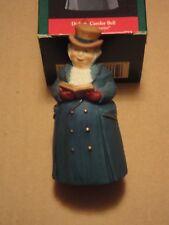 "1990 Hallmark Dickens Caroler Bell ""Mr. Ashbourne"""