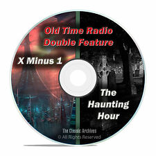 The Haunting Hour & X Minus One, 203 shows, Complete Run, Old Time Radio DVD F67