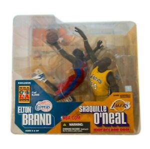 McFarlane NBA Elton Brand Shaquille O'Neal 2004 All-Star Exclusive