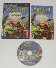 Arthur and the Invisibles: The Game PlayStation 2 PS2 COMPLETE game case manual