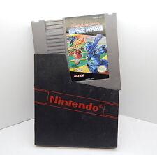 Nintendo NES Cyber Stadium Series Base Wars Game Cartridge, Works R13317