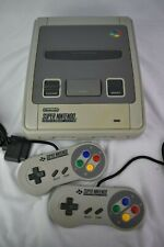 Super Nintendo Snes Games Console Complete 2 Controllers PAL
