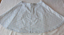 Topshop Cotton Blend A-line Regular Size Skirts for Women