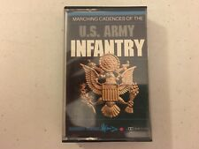 Marching Cadences of the US Army Infantry documentary Tape Cassette Album