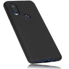 mumbi Hülle für Motorola One Vision Schutzhülle Case Cover Tasche Handy Schutz