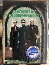 MATRIX RELOADED KEANU REEVES DVD NUOVO SIGILLATO ☆