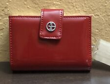 Women's GIANI BERNINI Red Patent Leather Wallet Msrp $49.50 1003584500