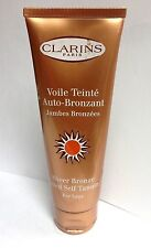 Clarins Sheer Bronze Tinted Self Tanning For Legs 4.4 OZ/125 ML Lot M Great Item
