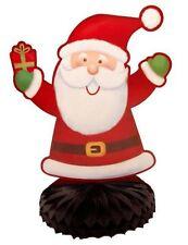 Papá Noel Navidad Centro de Mesa Panal Decoración