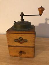 KYM Vintage Wooden Manual COFFEE GRINDER/MILL Retro Design