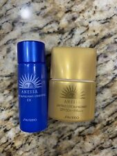 Shiseido Anessa Perfect UV Sunscreen SPF 50 PA+++ And Sun Screen Cleansing EX