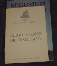 SEGUSIUM Anno XXIII n° 23 1987  Litografie De Bonis e Goss 1/70  Sagra S Michele