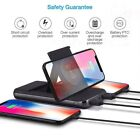 3000000mAh Qi Wireless Charger Foldable Bracket Portable Battery Power Bank