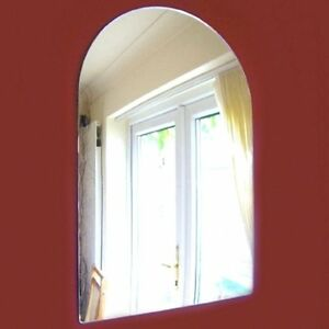 Arched Shaped Mirrors (Shatterproof Safety Mirrors, Various Sizes)